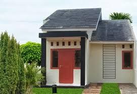 rumah minimalis sederhana 1 lantai - perumahan cluster