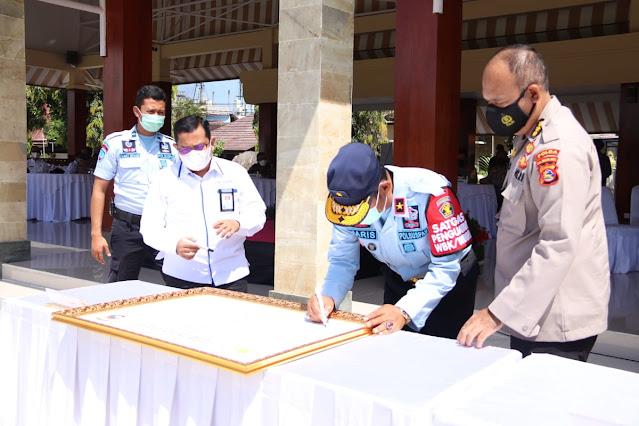 Haris Sukamto Deklarasi Pencanangan zI