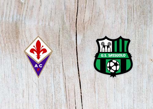 Fiorentina vs Sassuolo - Highlights 29 April 2019