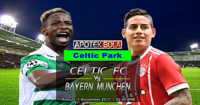 Celtic vs Bayern Munchen 1 November 2017