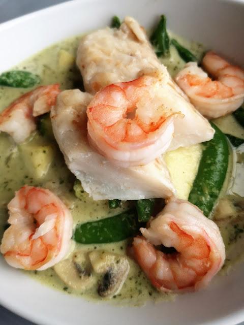 Tajskie zielone curry (vege)