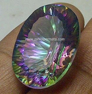 Batu Permata Mystic Quartz - ZP 441
