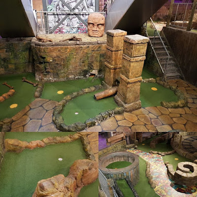 The Lost Valley Adventure Golf at Amazonia