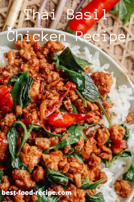 Thai Basil Chicken Recipe
