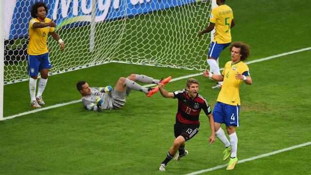 Germany 7 Vs Brazil 1