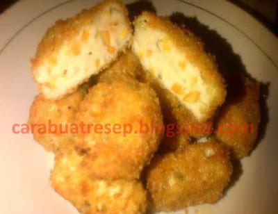 Foto Resep Nugget Ayam Sayur Ala Rumahan Homemade Sederhana Spesial Asli Enak