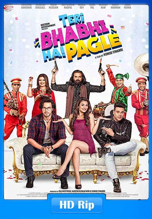 Teri Bhabhi Hai Pagle 2018 Hindi Proper 720p HDRip x264 | 480p 300MB | 100MB HEVC