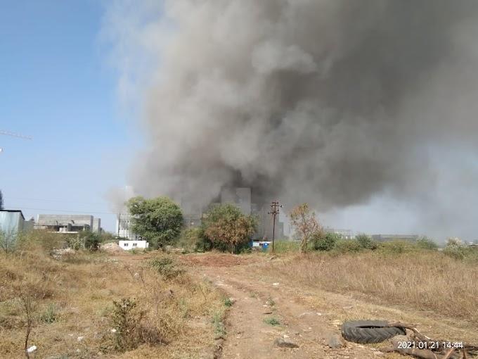 धक्कादायक... पुण्यातील जगप्रसिद्ध सिरम इन्स्टिट्यूटच्या नव्या इमारतीला भीषण आग