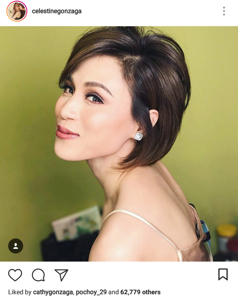 Toni gonzaga short hair celebrity
