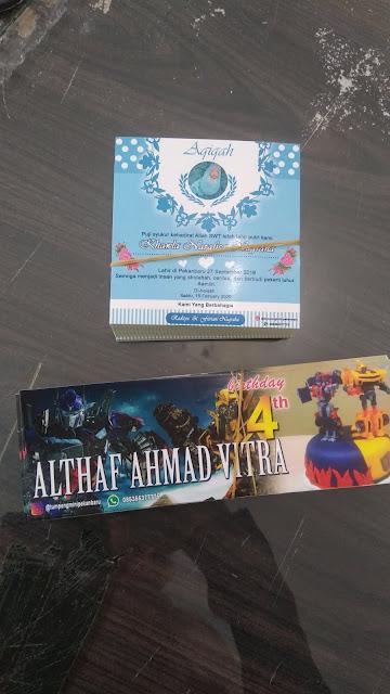 Stiker Lucu untuk Acara Aqiqah dan Ulang Tahun Anak