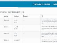 Bukti Pembayaran Dari CoinNess Round 2-3-4 Masuk ke Indodax