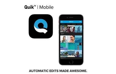Aplikasi rekomendasi terakhir adalah Quick. Aplikasi ini memberikan Anda kesempatan untuk memotong, memperbesar, memutar foto dan klip video dengan mudah dan cepat.