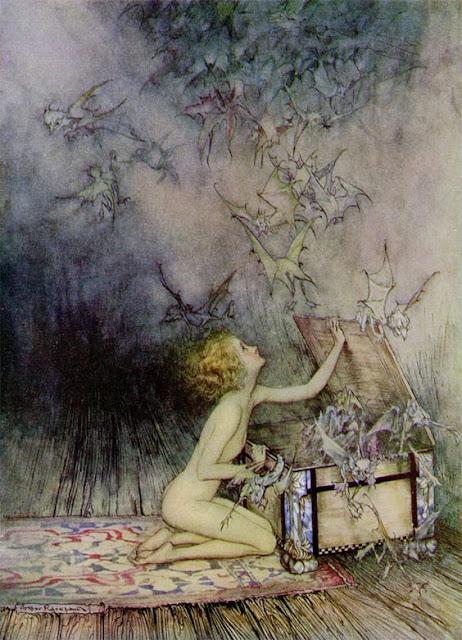 Pandora Arthur Rackham