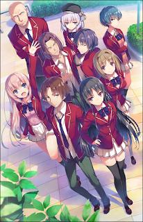 """Futura adaptación anime para las novelas """"Yokoso Jitsuryoku Shijo Shugi no Kyoshitsu"""""""