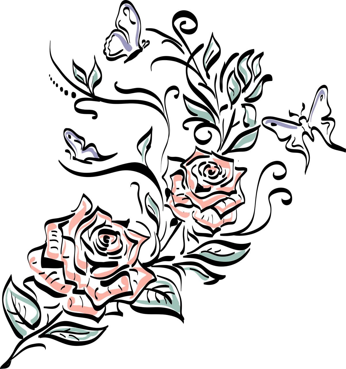 gambar bunga mawar