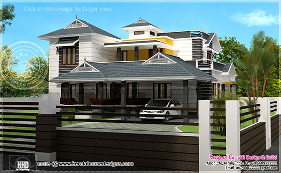 Residence elevation design