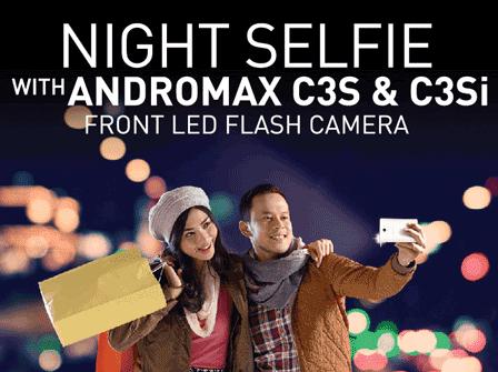 Smartfren Andromax C3s: Android Murah untuk Selfie Terbaik