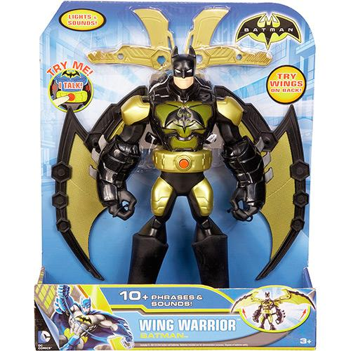 Boneco Batman 25cm super asas: Mattel