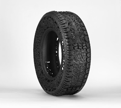Cool and Creative Hand Carved Car Tires (15) 5