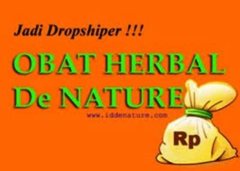 Cara Menjadi Dropshiper Obat Herbal de Nature