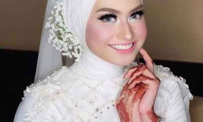model kerudung pengantin 7