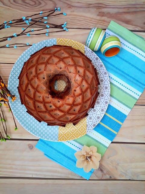 Bundt cake de crema LOTUS (de galletas Speculoos) Bizcocho, desayuno, merienda, postre, nordic ware, rico, sencillo,fácil, chocolate, horno, receta Cuca