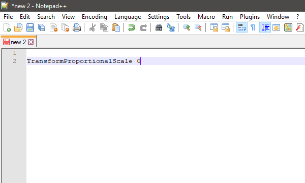 type text in notepad