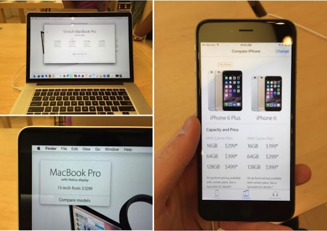 Apple replaces presentation system products in Apple Store