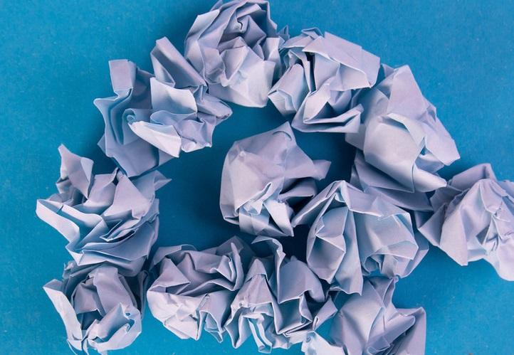 perubahan fisika pada kertas