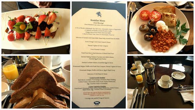 Invergarry Hotel breakfast