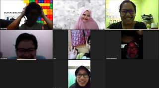 Zoom meeting dengan Virtual Background