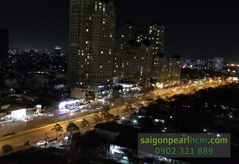 view căn hộ The Manor nhìn từ Saigon Pearl