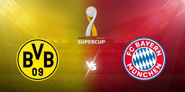 Which TV channel will air German DFL supercup Borussia Dortmund VS Bayern Munich in Kenya photo
