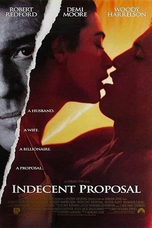 Indecent Proposal (1993) Full Hindi Dual Audio Movie Download 480p 720p Bluray