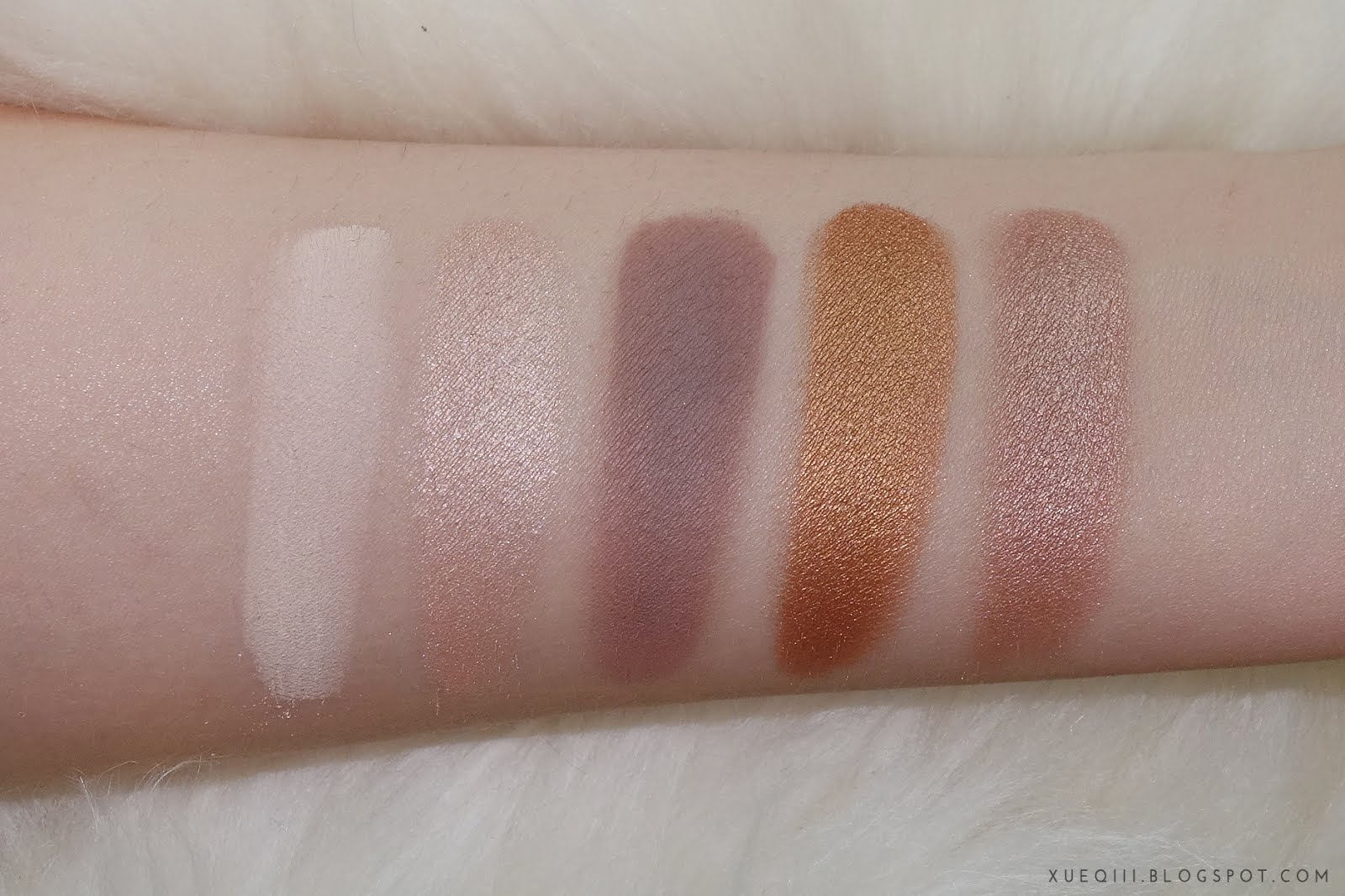 Zoeva | Nude Spectrum Eyeshadow Palette Review and Swatches ...