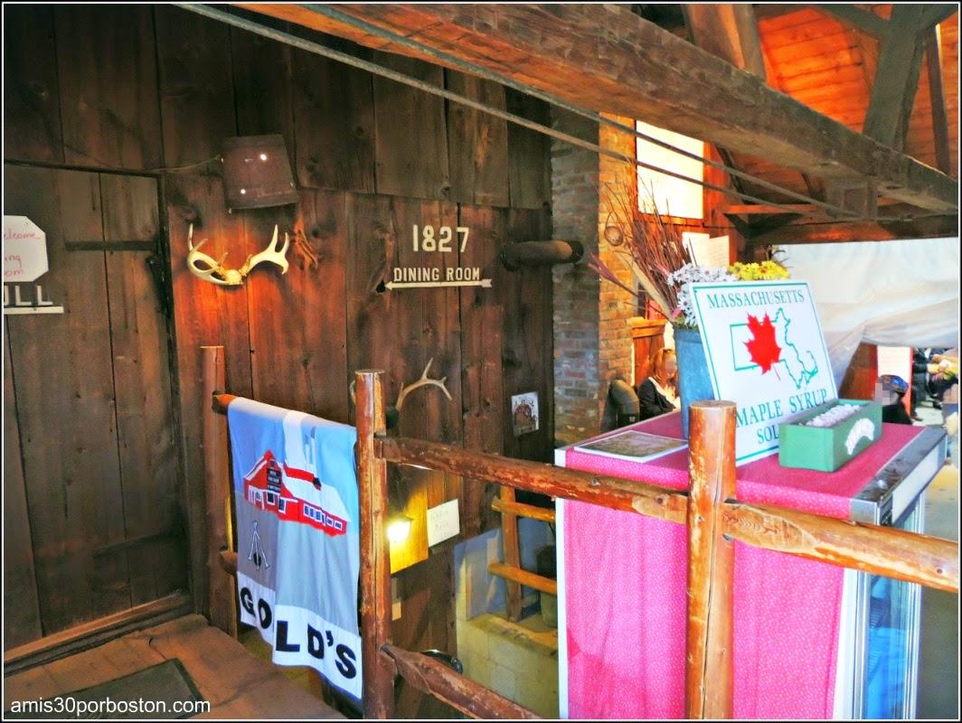 Maple Sugar Season en Massachusetts: Gould´s Sugar-House