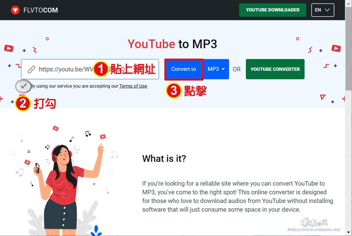 FlVTOCOM 網頁下載器,儲存 YouTube 影片和音訊