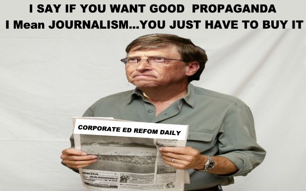 Image result for big education ape Bill Gates