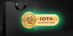 IOTA cryptocurrency accepted here symbol