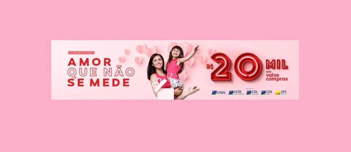 Cadastrar Promoção CDL Blumenau Dia das Mães 2020 - 20 Mil Reais Vales-Compras