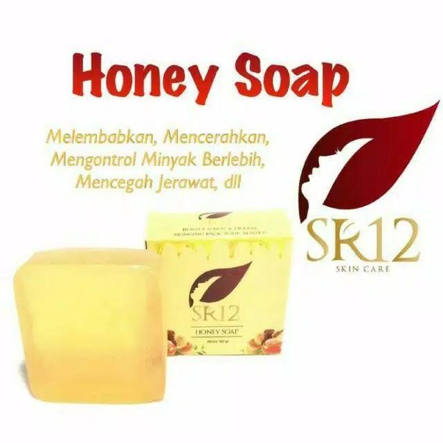 Jual Pembersih Wajah Honey Soap SR12 Edisi Terbatas