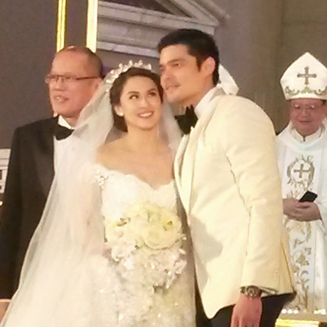 Wedding Principal Sponsors Gown: Marian Rivera Dingdong Dantes Wedding Controversies