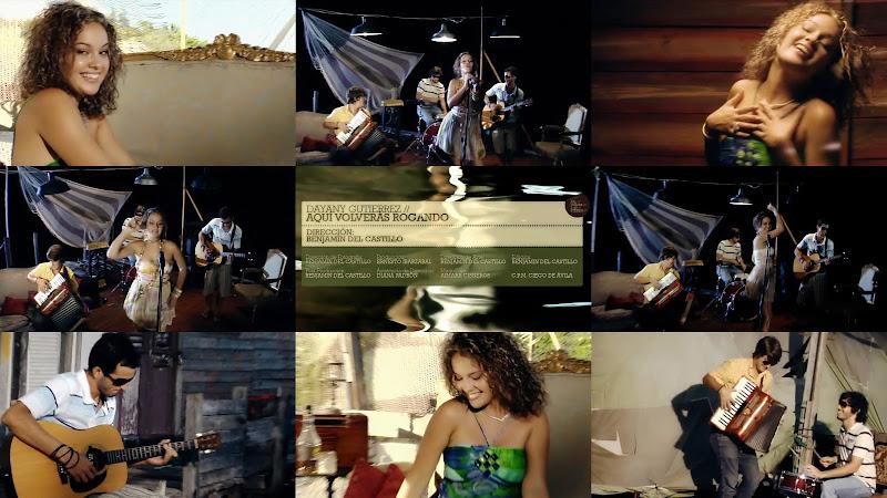 Dayany Gutiérrez - ¨Aquí volverás rogando¨ - Videoclip - Director: Benjamín Del Castillo. Portal Del Vídeo Clip Cubano