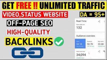 WhatsApp VIDEO Status Website OFF PAGE SEO | High Quality Backlinks Kaise Banaye - How To Create Backlinks