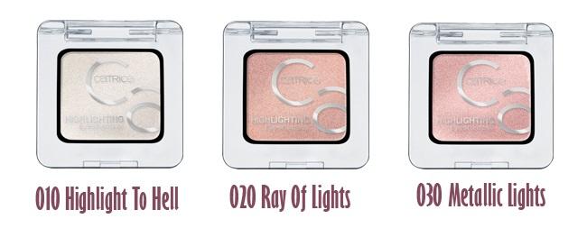 Nuevas sombras de ojos de CATRICE Art Couleurs - iluminadoras