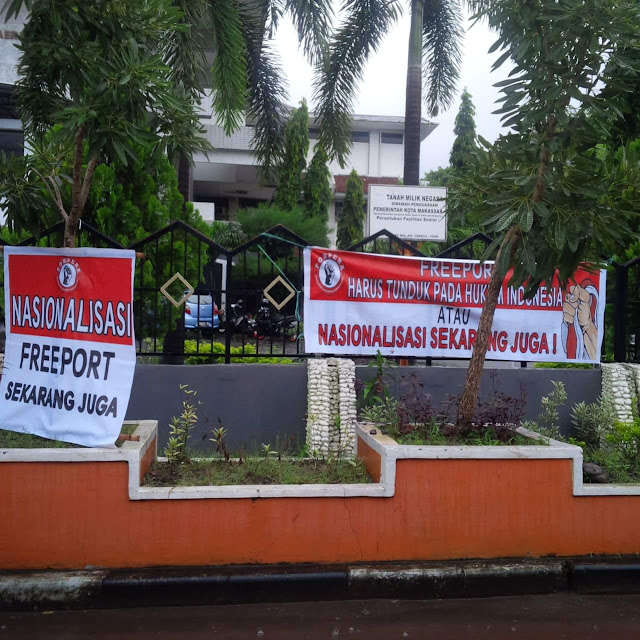 Sikapi Isu Nasional, DPC Pospera Luwu Tuntut Nasionalisasi PT. Freeport