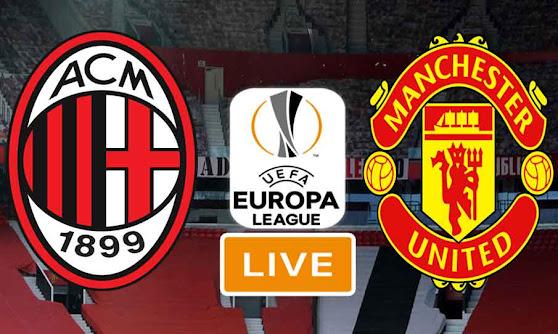 Match AC Milan vs Manchester United Live Stream