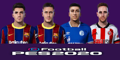 PES 2021 Facepack by SR