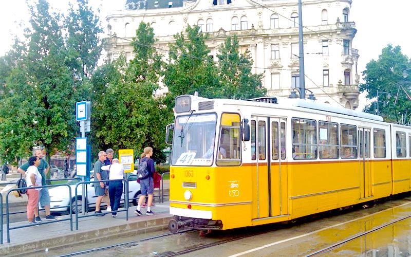 Tramways de Budapest