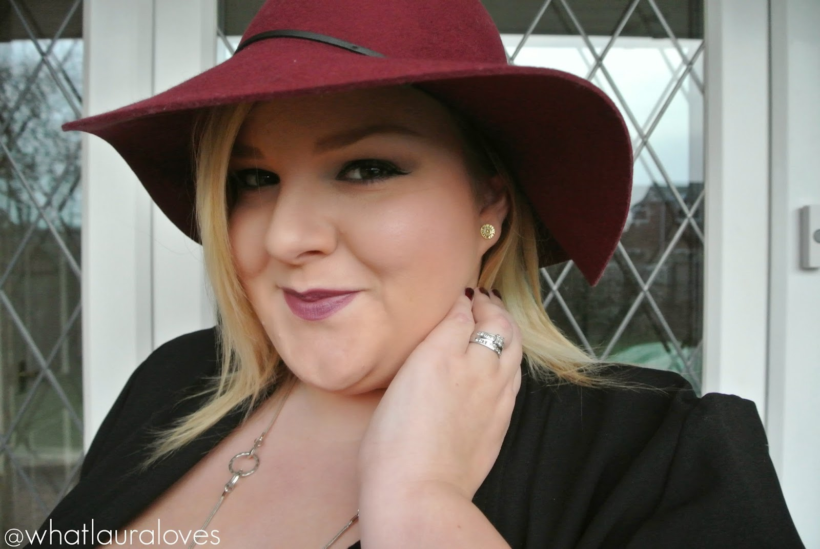 Burgundy Floppy Hat ... 439dbef0d8a